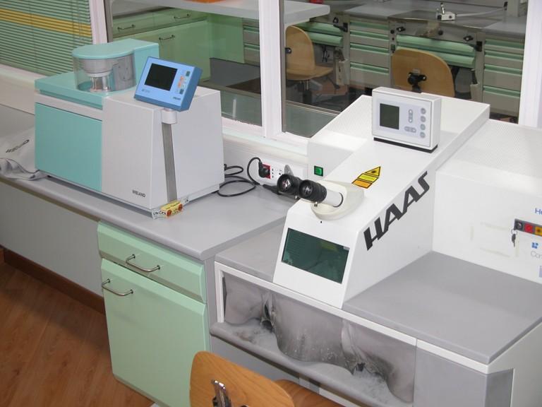 Attrezzatura per Aureo-Galvano e saldatura Laser